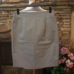 Dana Buchman 100% Cotton Pencil Skirt